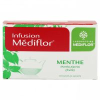 Menthe infusion 24 sachets