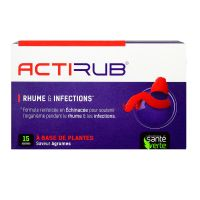 Rhume & infections Actirub - 15 sachets