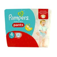 Baby-dry 23 couches-culottes 8-15kg (taille 4)
