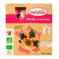 Gourde fruits prune 4x90g