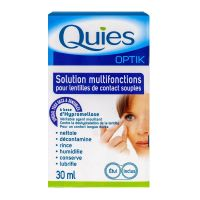 Optik solution multifonctions lentilles 30ml