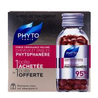 Phytophanère cheveux & ongles 2x120 capsules
