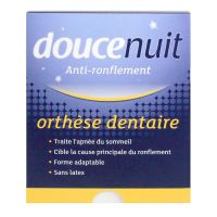Doucenuit orthèse dentaire