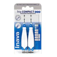 Trio Compact 2x3 brossettes interdentaires 1/1/1